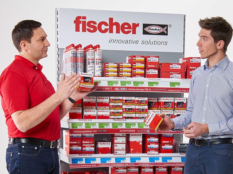 07bdc9bffa8 fischer für Händler - Kundenbetreuung, Sortiment, Bestell- und  Lieferservice, Bilddatenbank